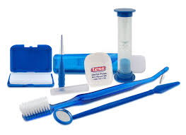 Toothbrush, floss, mirror, and other dental equipment