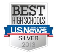 US News Best Highschools Silver Award